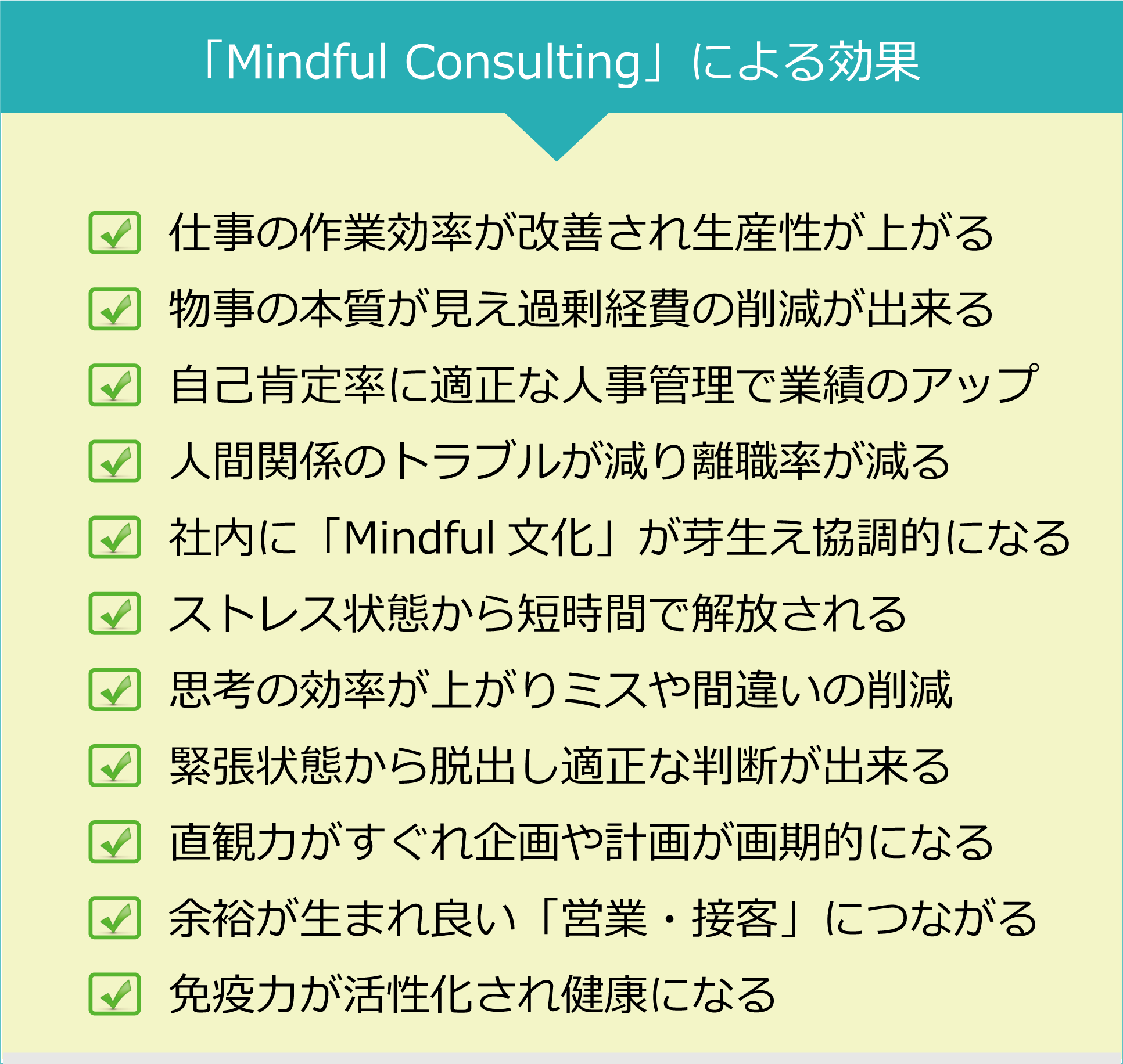"""mind07-1 <span style=""""font-size: 24pt; color:#E2faeb4;"""">企業コンサルティング</span>"""
